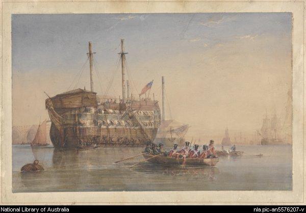 convicts to australia
